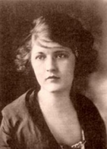 Zelda Fitzgerald 1919, Photographer Unknown