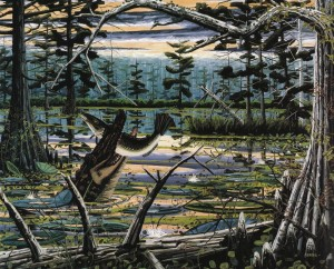 Painting by David Bates